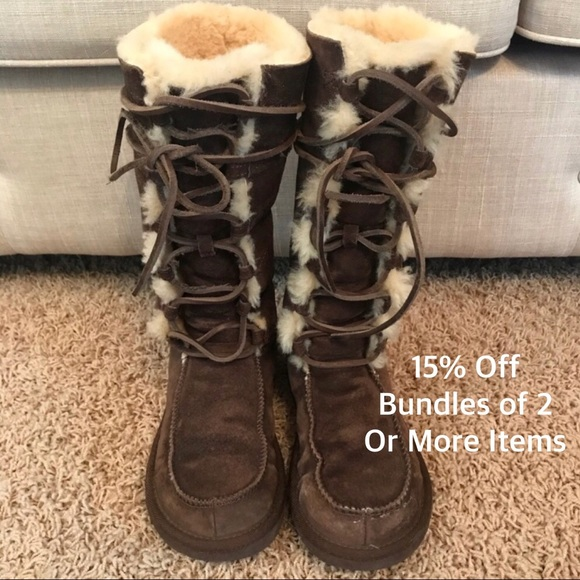 f3de075ef61 Ugg Boots Tall Tularosa Uptown ll Brown Winter 6